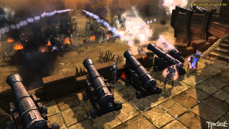Осада Замка в Titan Siege
