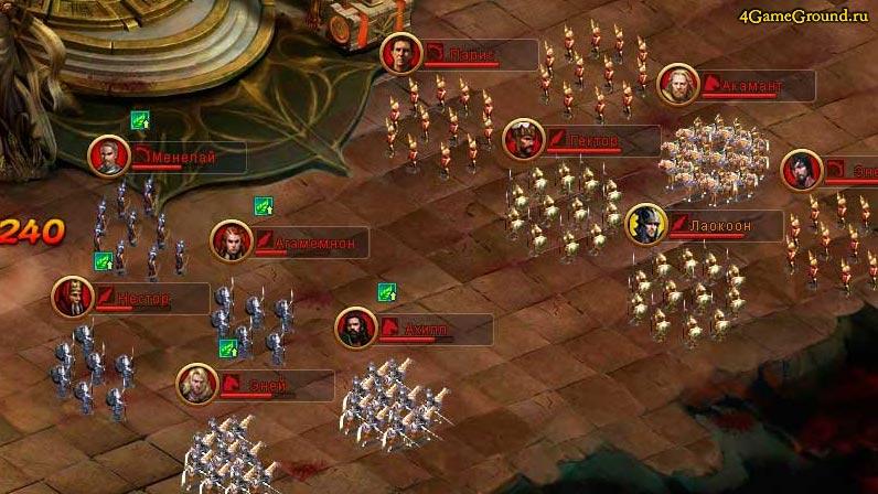 Твоя армия готов атаковать - Империя в Огне