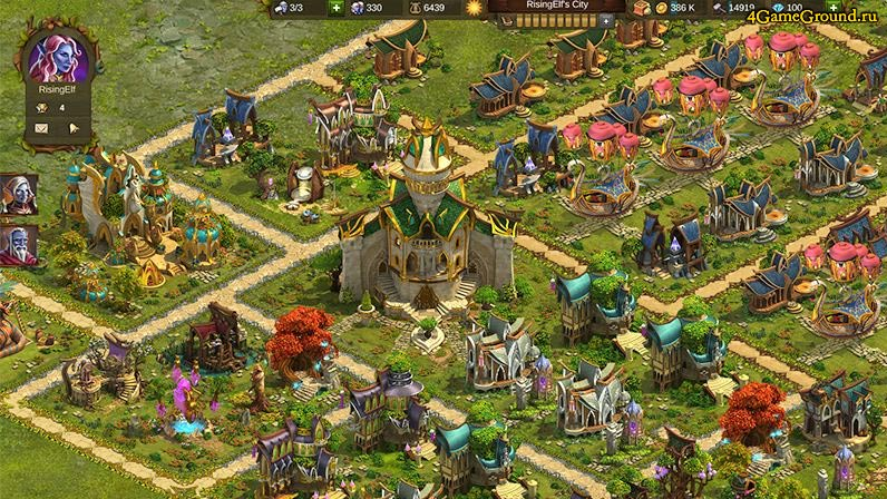 Твой будущий город в Элвенаре