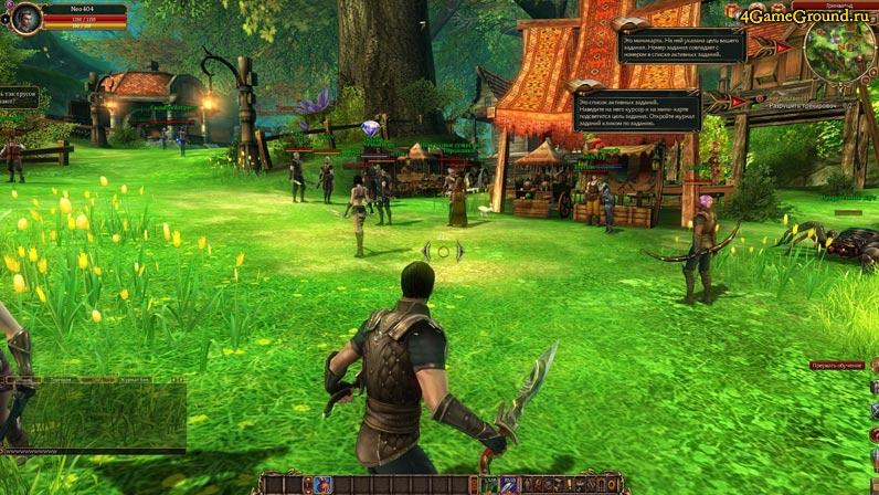 Мир онлайн игры Сфера 3