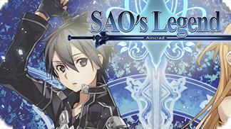 Игра Sword Art Online (SAO's) Legend - браузерная аниме MMORPG