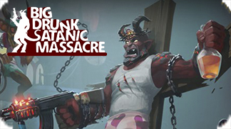 Игра Big Drunk Satanic Massacre - настоящая сатанинская резня