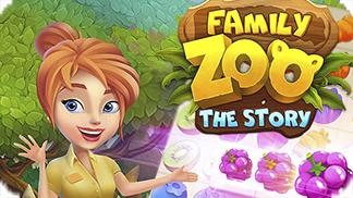 Игра Family Zoo: The Story - создай свой семейный зоопарк