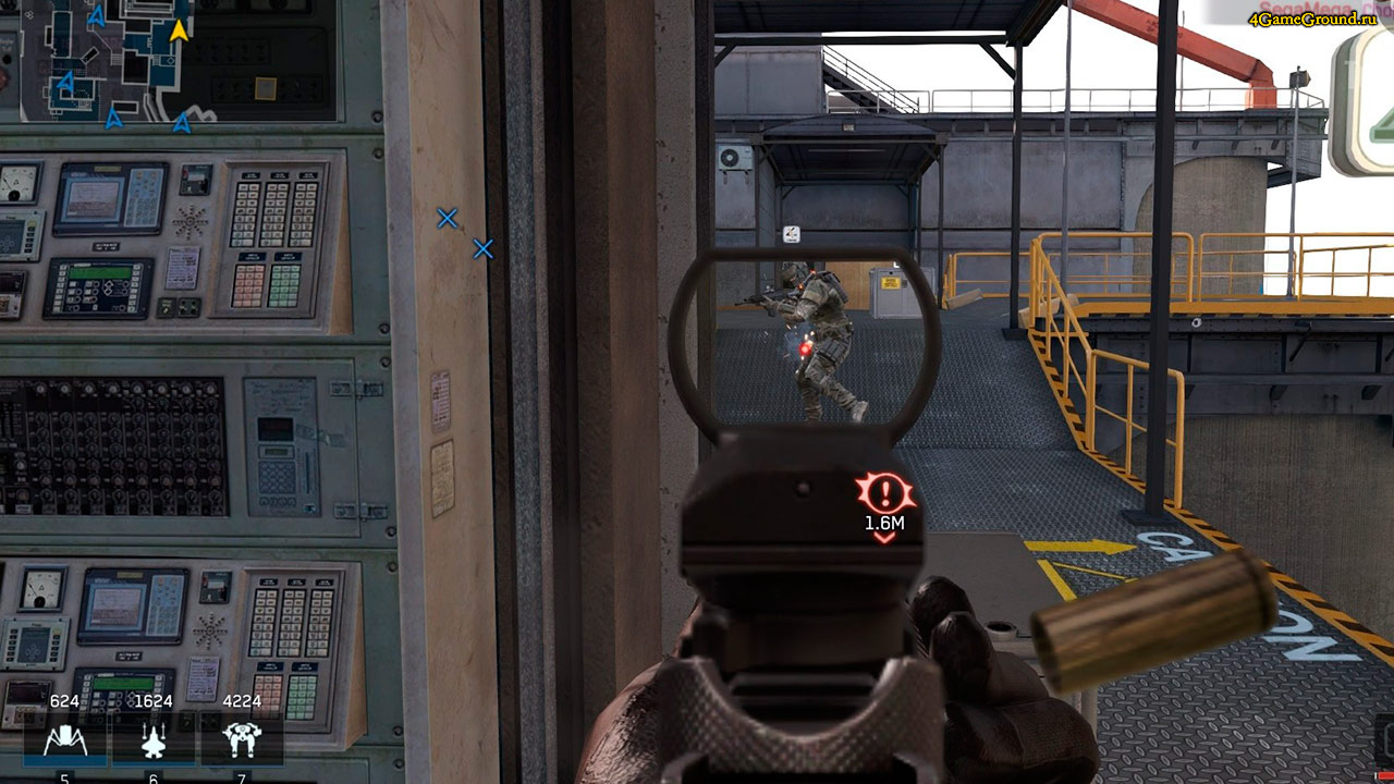 Игра Ironsight / Железный Взгляд - побеждай и захватывай