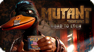 Игра Mutant Year Zero: Road to Eden - постапокалиптический мир мутантов
