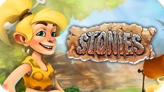 Игра Stonies - мир первобытных людей!