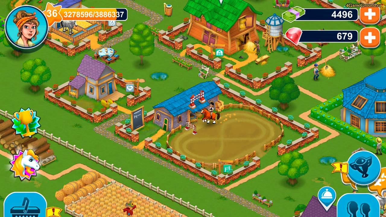 ферма онлайн играть бесплатно регистрации