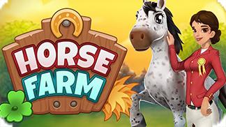 Игра Horse Farm - создай свою лошадиную ферму!