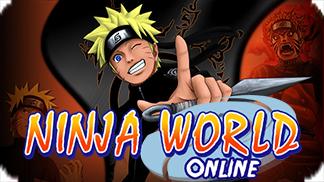 Игра Ninja World Online - стань лучшим в мире ниндзя!