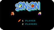Игра Сын Сын / Son Son (NES)