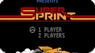 Игра Супер спринт / Super Sprint (NES)