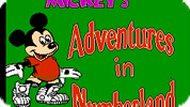 Игра Приключения Микки в стране цифр / Mickey's Adventures in Numberland (NES)