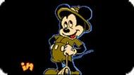 Игра Сафари Микки в Стране Букв / Mickey's Safari in Letterland (NES)