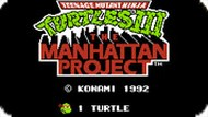 Игра Черепашки ниндзя 3: Проэкт Манхэттен / TMNT The Manhattan Project (NES)