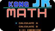 Игра Донки Конг. Математика / Donkey Kong Jr. Math (NES)