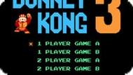 Игра Донки Конг 3 / Donkey Kong 3 (NES)