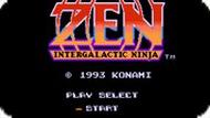 Игра Зен: Межгалактический ниндзя / Zen Intergalactic Ninja (NES)