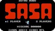 Игра Астро Робо Саса / Astro Robo Sasa (NES)