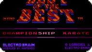 Игра Лучшие из лучших: Чемпионат / Best of the Best: Championship (NES)