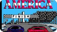 Игра Американские гонки / Race America (NES)