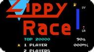 Игра Быстрая Гонка / Zippy Race (NES)