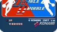 Игра Двойной дриблинг / Double Dribble (NES)
