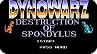 Игра Диновойны: Разрушение Спондиласа / Dinowarz: Destruction of Spondylus (NES)