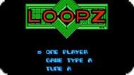 Игра Лупз / Loopz (NES)