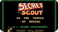 Игра Шпион в разрушенном храме / Secret Scout in Temple of Demise (NES)