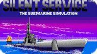 Игра Тихое Обслуживание / Silent Service (NES)