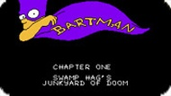 Игра Симпсоны Бартмен / Simpsons: Bartman (NES)