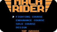 Игра Мотоциклист / Mach Rider (NES)