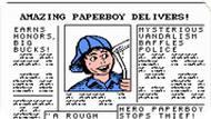 Игра Разносчик газет / Paperboy (NES)