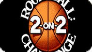 Игра Баскетбол 2 на 2 / Roundball 2-on-2 Challenge (NES)