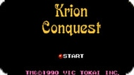 Игра Завоевание Криона / Krion Conquest (NES)