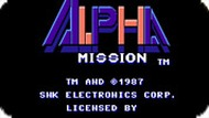 Альфа-Миссия / Alpha Mission (NES)