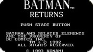 Игра Бэтмен Возвращается / Batman Returns (NES)