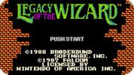 Игра Наследие Волшебника / Legacy of the Wizard (NES)