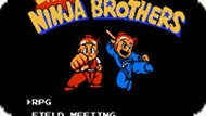 Игра Маленькие братья ниндзя / Little Ninja Brothers (NES)