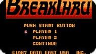 Игра Бездорожье / BreakThru (NES)