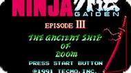 Игра Ниндзя Гайдн 3 / Ninja Gaiden 3 (NES)