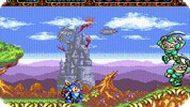 Игра Приключения реактивного рыцаря / Rocket Knight Adventures (SEGA)