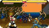 Игра Xватка самурая / Samurai Shodown (SEGA)