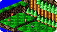 Игра Змейки Раттл и Ролл / Snake Rattle n Roll (SEGA)