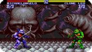 Игра Черепашки ниндзя: турнир / Teenage Mutant Hero Turtles: Tournament Fighters (SEGA)
