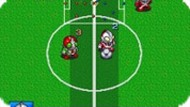 Игра Боевой Футбол / Battle Soccer — Field no Hasha (SNES)