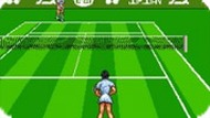 Игра Виртуальный теннис с Датэ Кимико / Date Kimiko no Virtual Tennis (SNES)