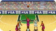 Игра Баскетбол Мечты — бросок и корзина / Dream Basketball — Dunk and Hoop (SNES)