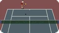 Игра Теннис — заключительный сет / Final Set Tennis (SNES)