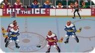 Игра Бей по льду / Hit the Ice (SNES)
